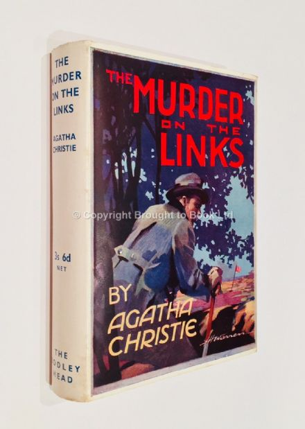 The Murder On the Links by Agatha Christie Reprint John Lane The Bodley Head Ltd 1938